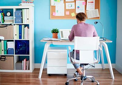Consejos para adecuar un espacio de trabajo en casa